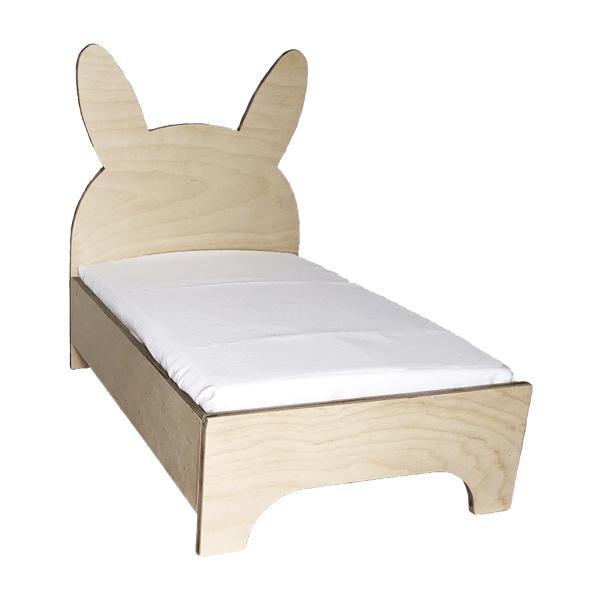 Kaninchenbett aus Holz - Bett für Kaninchen