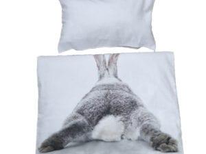 Kaninchen Hintern Bettwäsche