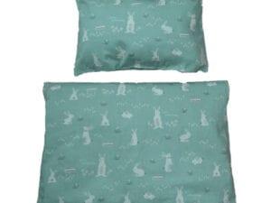 grüne Bettwäsche
