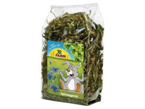 Kanin tilskudsfoder med vejbred urteblanding til kaniner og sunde blomster