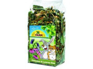Solhat og Lucerne - sundt tilskud til kaninfoder - urteblanding til kanin