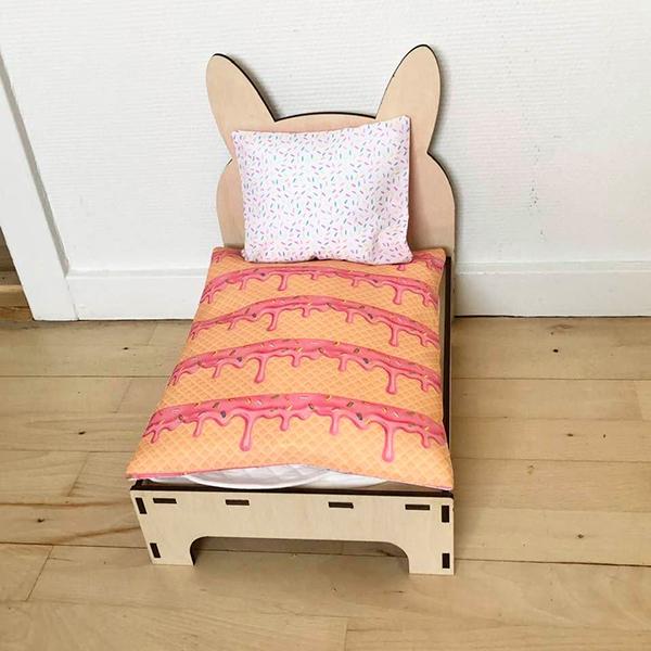 Bett für Kanincheneis