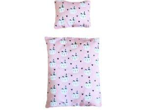 Bettwäsche für Kaninchenbett rosa indianer Kaninchen